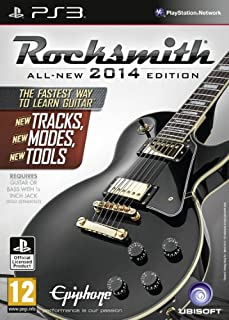 Rocksmith 2014 Edition - Includes Real Tone Cable (PS3) (B00CMJ1IIK) | Amazon price tracker / tracking, Amazon price history charts, Amazon price watches, Amazon price drop alerts