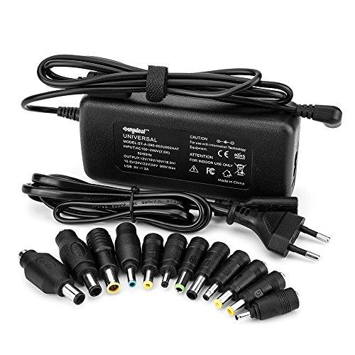 Sunydeal 90w Adapter Universal Ladegerät Netzteil 90w für ACER, Sony, Fujitsu, Toshiba, Fujitsu, NEC, GreatWall, HP/Compaq, Dell, Delta, IBM, ASUS, Samsung, LG,Medion, Delta