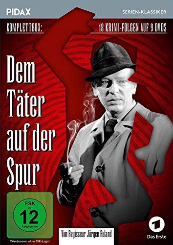Dem Täter auf der Spur / Die komplette Krimiserie von Jürgen Roland (Pidax Serien-Klassiker) [9 DVDs]