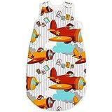 Baby Aviator / Planes SoulBedroom Summer Sleeping Bag 0.5 tog (6 - 18 months)