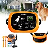 Veena Only 1 Collar Receiver for Dog 123 Wireless Dog Fence Rechargeable Nowire