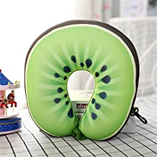 Satyam Kraft (Pack Of 1)Fruit Design Neck Travel Pillow