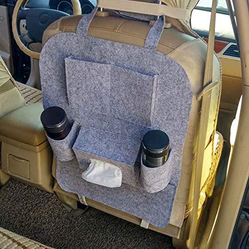 Organizer Sedile Auto Tasca Laterale in Pelle PU Organizer per Con Porta Monete e Portabicchieri Organizer Auto Sedile Anteriore Organizzatore Sedile Auto Riempitivo Seat Universale Destra