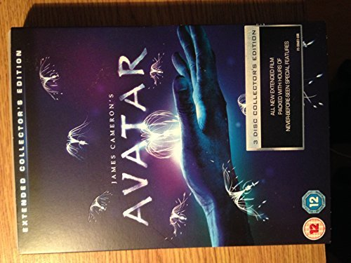 james-camerons-avatar-extended-collectors-edition-3-disk-dvd-tesco-exclusive-4-hologram-cards