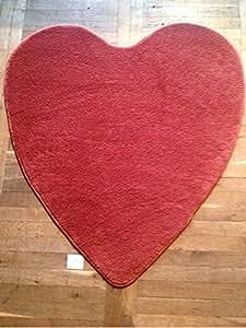 Teppich Modell Herz Valentinstag Liebe 120x128cm H0013
