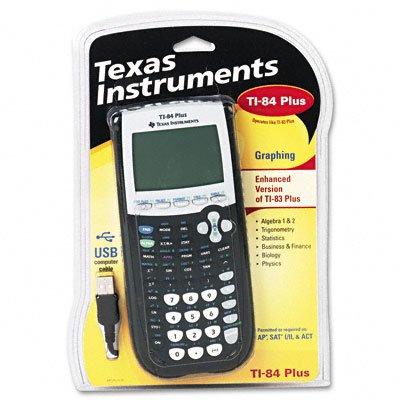 TI-84PLUS calcolatrice programmabile, 10-digit LCD
