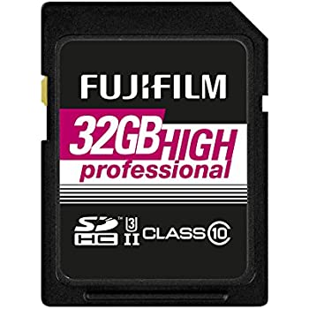 Tarjeta de Memoria Fujifilm SDHC High Professional C10 UHS-II Negra