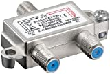 2 Stück - Wentronic SAT-TV-Einschleuseweiche DC-Durchgang