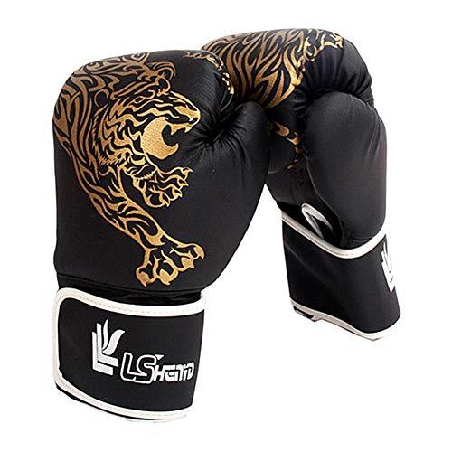 Lifesongs Kinder Boxhandschuhe,Mit Klettschluss Klein Box-Handschuhe Für Kinder 3-14 Jahre Training Gloves MMA, Muay Thai, Kickboxen Und Sandsack Sport - Rot/Schwarz/Blau/