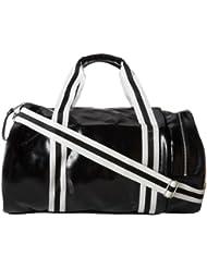 Fred Perry Classic Barrel Bag black ecru