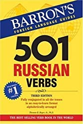 501 Russian Verbs (Barron's Foreign Language Guides) (Barron's 501 Russian Verbs) by Thomas R. Beyer (2008) Paperback