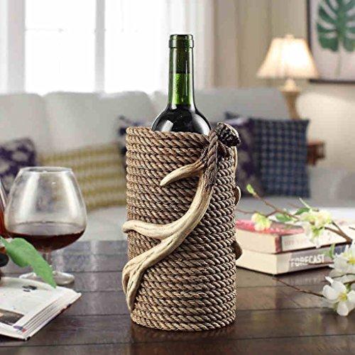 King Orten (Wein-Rack-Harz-Pers5onlichkeit-Rotwein-Zahnstange-Verzierungen Kreativer europäischer Art-Wohnzimmer-Flaschen-Zahnstange-Wein-Zahnstange verzierte Wein-Racks Wein-Halter Weinregale)