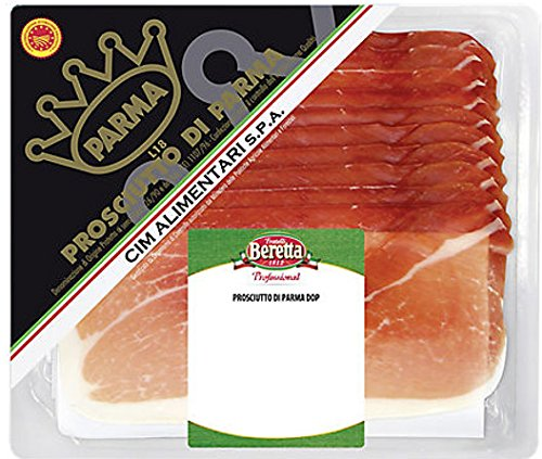 Beretta Prosciutto di Parma geschnitten luftgetrockneter Parmaschinken 300 g Packung
