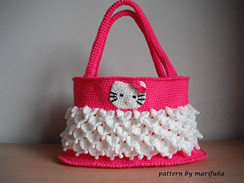 Crochet Hello Kitty Bag Pattern Pdf Nr 46 By Marifu6a Crochet Hello