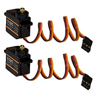 Adapter Universe 2 x Emax ES08MD RC Servo Digital Metall Gear Micro Servo 12g 0,08s 2,4kg