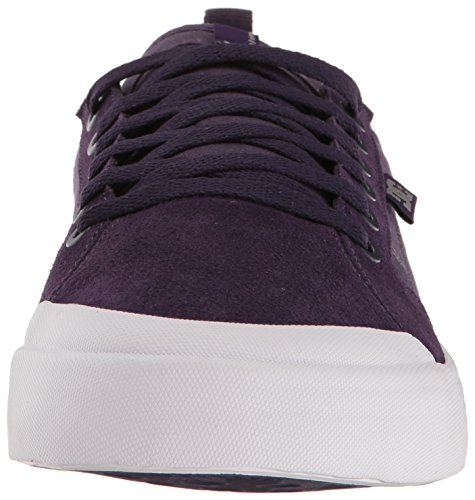 DC - - Männer Evan Smith S Low Top Freizeitschuh Purple/White