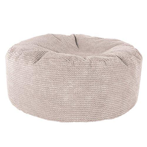 icon Ottowa Luxury Faux Fur Footsool - Square Bean Bag Pouffe - Buy ... 77d3188a2072f