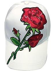 Vovotrade® ❃❃ Femmes Hommes Couple Rose et Paillettes Casquette de Baseball Unisex Snapback Hip Hop Flat Hat