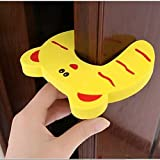#8: RK's 7 Pcs Door Stopper Cartoon For Kids And Baby Safety Pinch Guard And Accidental Door Lock Protection For Baby Safety Made Of 1.2 Cm Thick Foam