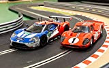 Scalextric Circuit Routier C3893 a Legends Le Mans 1967-50 Ans de Ford de Voiture