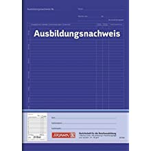 Brunnen 104257001 Training Certificate Booklet A4 28 Green