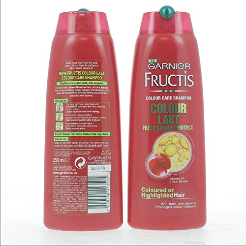 Garnier Fructis Colour-Last Shampoo 250ml