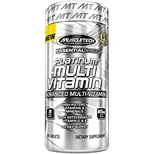 Muscletech Platinum Advance Multivitamin, 90 Caplets