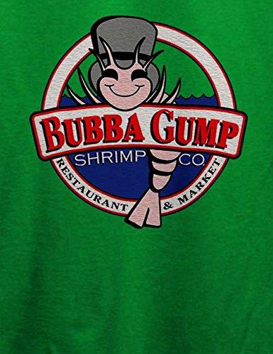 Bubba Gump Shrimp Company Herren T-Shirt Grün