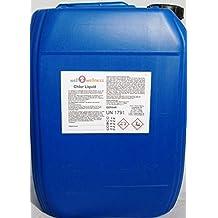 Cloro Liquido Estabilizado - Blanqueador Cloro Estable 25,0 kg - EN OFERTA