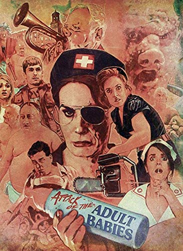 Attack of the Adult Babies - Uncut - Limited Uncut Edition (+ DVD), Cover B [Blu-ray]