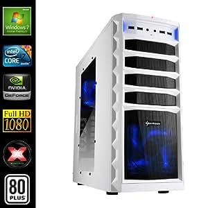 Sedatech PC Gamer Advanced Desktop (Intel i7-4770 4x 3.4GHz Processor, 16GB RAM, 2000GB HDD, USB 3.0, Full HD 1080P, 80+ PSU, GeForce GTX 750ti 2048MB, Windows 7)