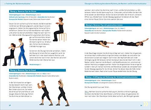 Rückenfit & Kreuzfidel: Das Training für Rücken und aufrechte Körperhaltung. DER Rückentrainer gegen das Volksleiden Nr. 1!