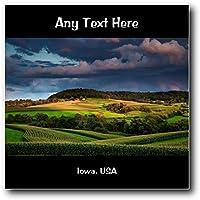 Iowa, USA, America, USA, in acrilico, da parete