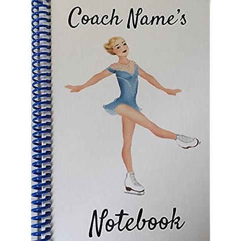 Pattinaggio su ghiaccio Coach–Personalizzabile NOTEBOOK