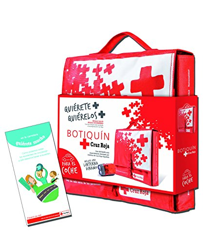 Botiquín Cruz Roja Primeros Auxilios en Nylon para Coche- 1500 gr