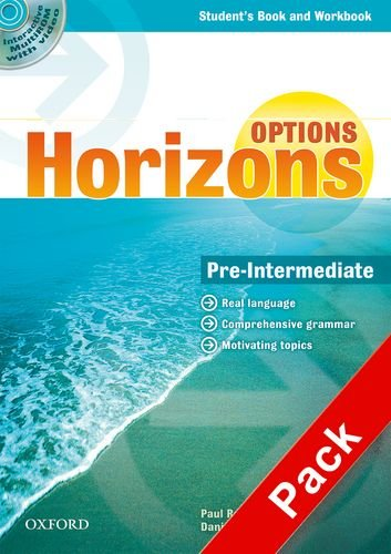 Horizons. Options. Pre-Intermediate. Student's book-Workbook-Companion book-Portfolio. Per le Scuole superiori. Con Multi-ROM