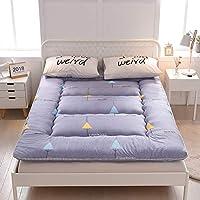 VIVOCCFuton Respirable Dormir Tatami de Piso, Plegable Futón Tatami Japonés la Cama Roll Primeros del