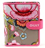 Oilily Fantasy Flora S Flap Wallet - Mocca