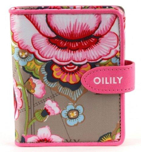 oilily-fantasy-flora-monedero-con-diseno-de-flores-tamano-pequeno-color-marron-claro
