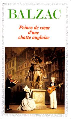 Peines de coeur d'une chatte anglaise par Honoré de Balzac