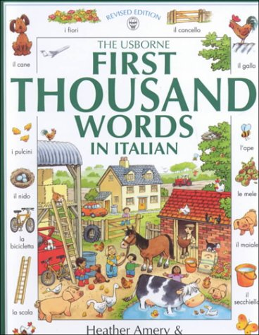 The Usborne 1st 1000 Words in Italian
