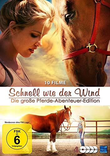 Schnell wie der Wind - Die große Pferde-Abenteuer-Edition - 10 Filme Edition [4 DVDs]