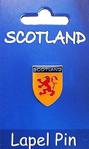 Scottish Lapel Pin Lion Rampant Design on Scottish Lapel Pin