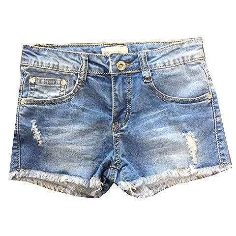 Fashion - short jeans fille enfant Taille de 8 à