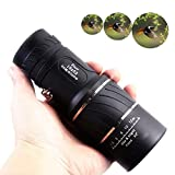 F.Dorla 16x52 HD Optical Monocular Telescope,Outdoor Portable Dual Focus Optics  Zoom Lens Monoculars for BirdWatching Hunting Camping Hiking Traveling