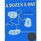A Dozen A Day: Book One - Primary Edition (Book And CD). Für Klavier