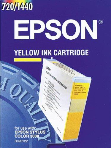 Preisvergleich Produktbild Epson S0201 Tintenpatrone, Singlepack, gelb