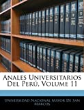 Anales Universitarios Del Perú, Volume 11