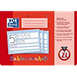 Oxford 100050105 School Learning to Write Notebook, A5, Lineature 0 (First Class) with Coloured Middle Strip A4 quer, 16 Blatt