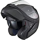 Black Optimus SV Motorrad Roller Klapphelm XXL Matt Black - 6